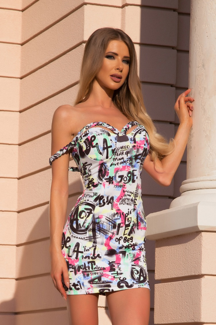 Married to the money bodycon рокля