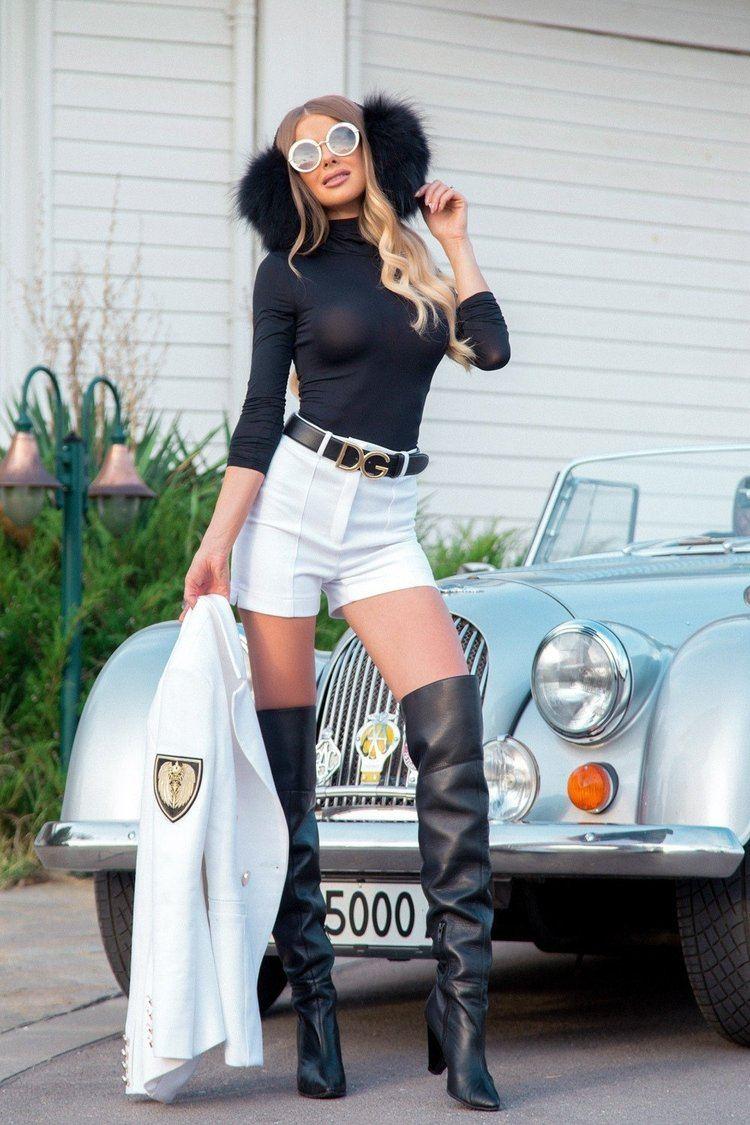 Style practice блуза-поло - черно