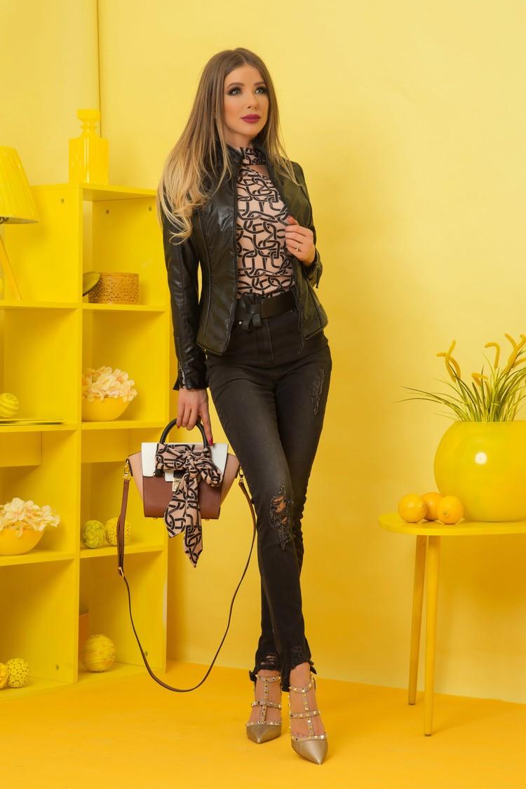 Alessa luxury блуза с един ръкав