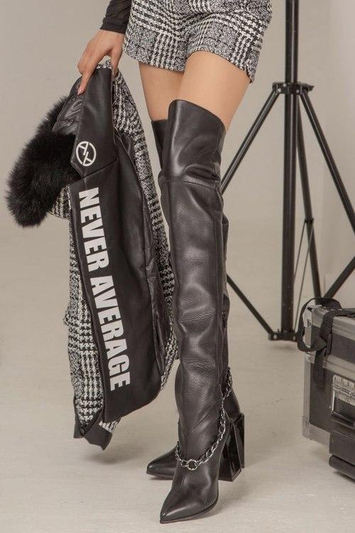 Lorraine чизми с подвижен синджир