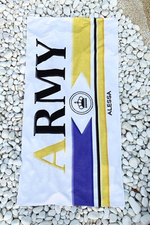 Плажна хавлия Army Label