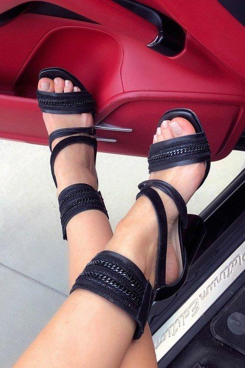 Summer walks сандали на ток