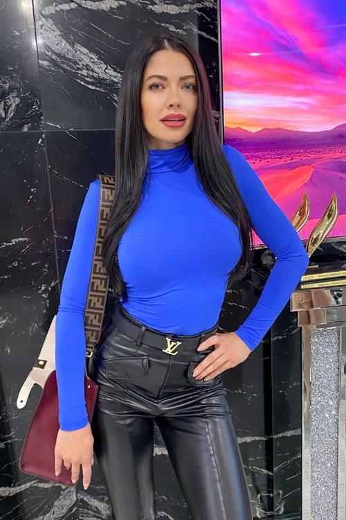 Style Practice Блуза-Поло - blue