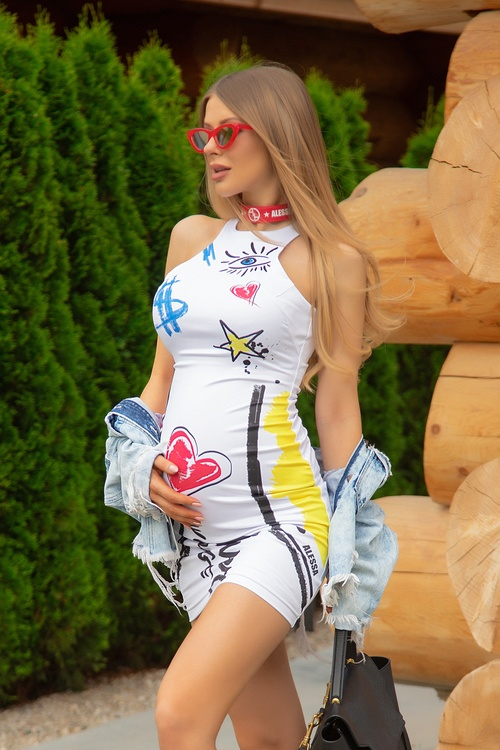 Undefeated in fashion bodycon рокля