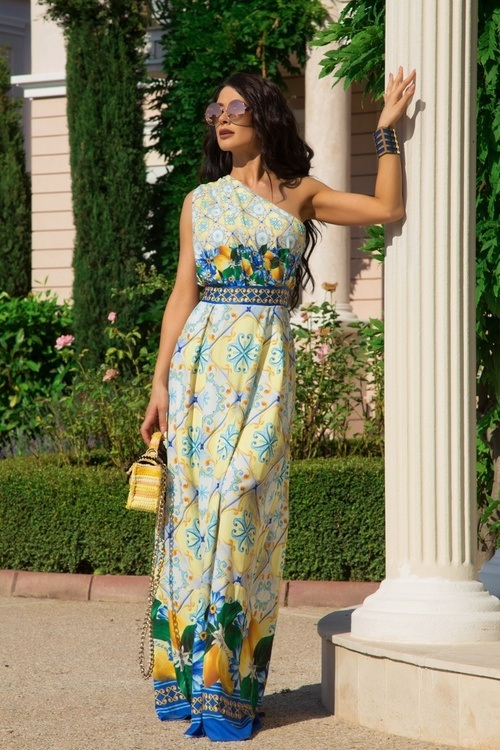 Take your crown maxi рокля