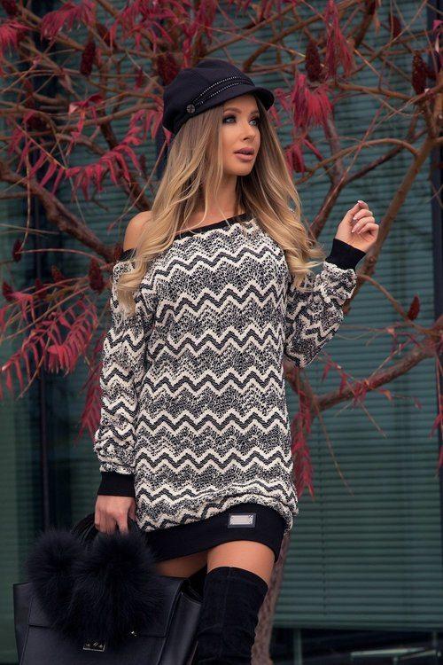 Winter Grace пуловер-рокля