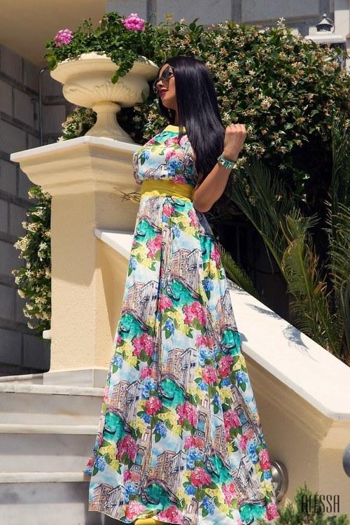 Venice mood maxi рокля