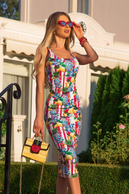 Insta sensation bodycon рокля