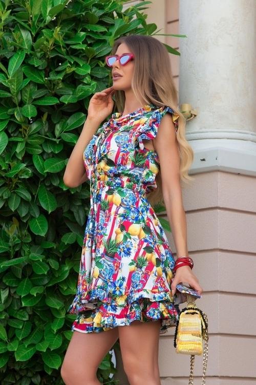 Insta sensation ruffles рокля