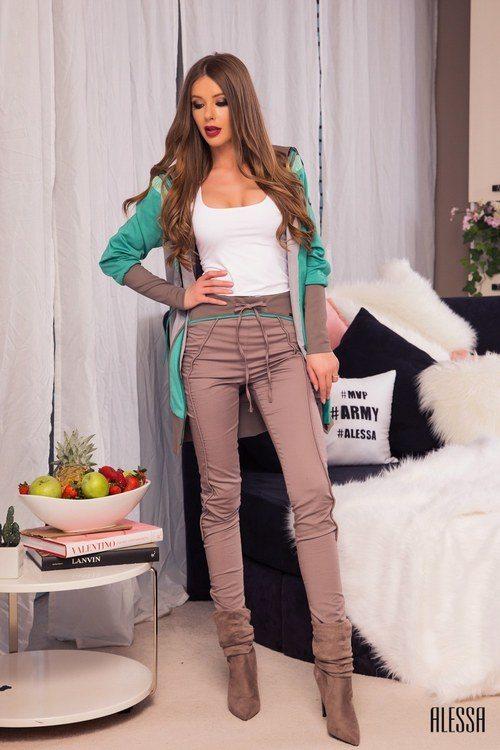 Designer's pick панталон с висока талия