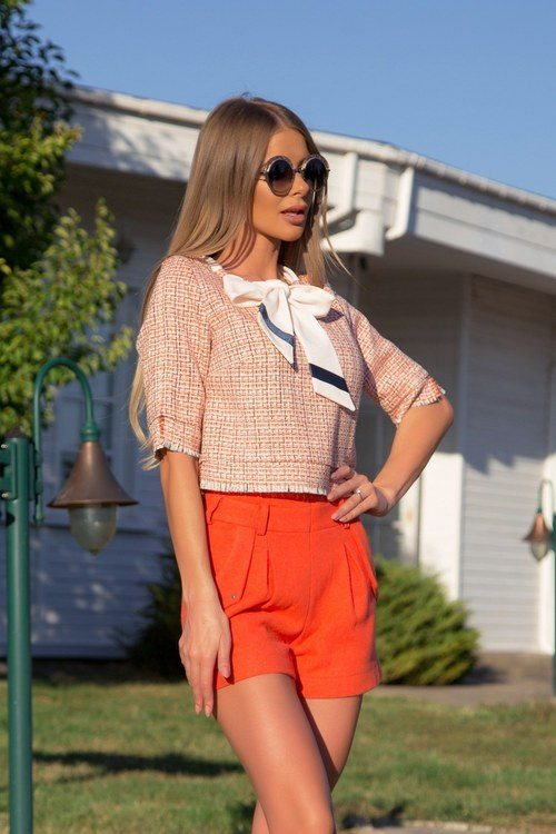 Beauty and smarts блузка от букле - orange