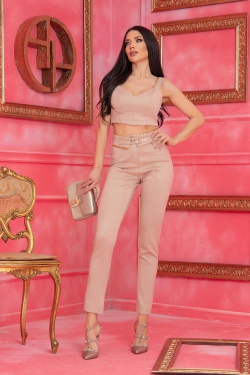 Barbie life doll дълъг панталон - Nude