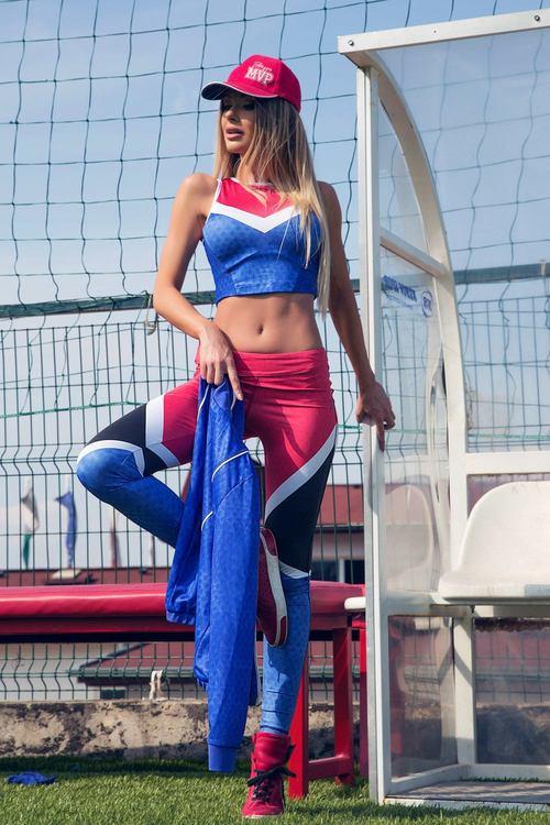 Fashion Meets Fitness кроп-топ