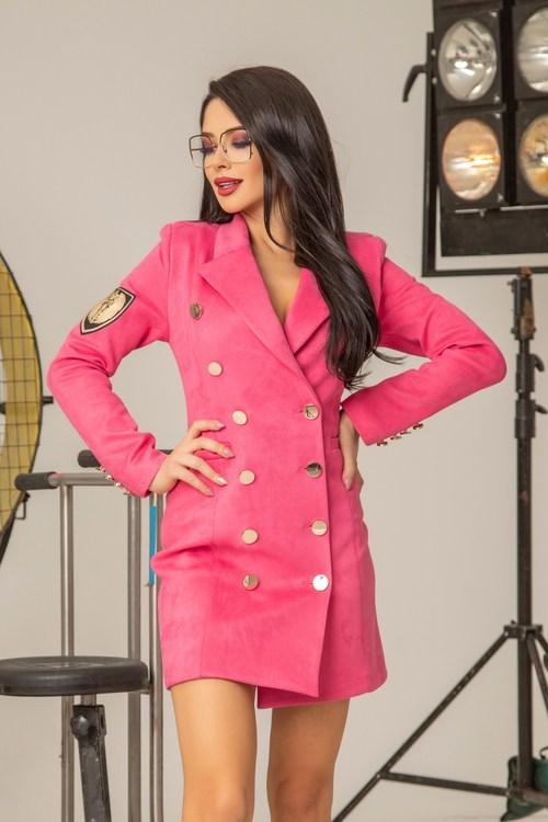 Pinky promise блейзър-рокля - фуксия