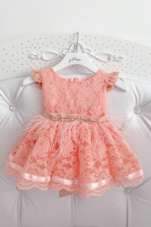 Lace for days Alessa mini Рокля От Дантела