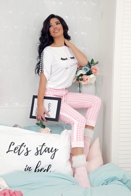 Cosy comfy Alessa чорапки - розово