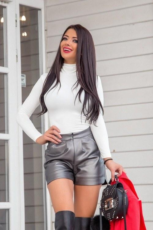 Style practice блуза-поло - екрю