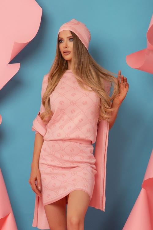 Alessa Religion Пола От Плетиво - Sweet Pink