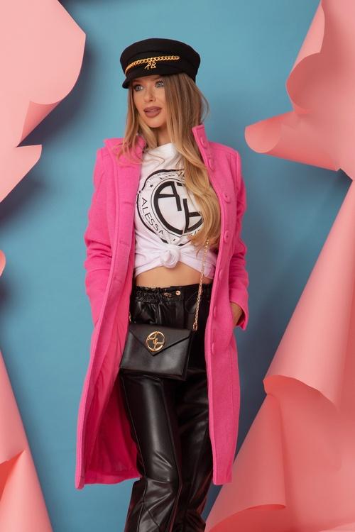 Forbes Girl Палто - Light Pink