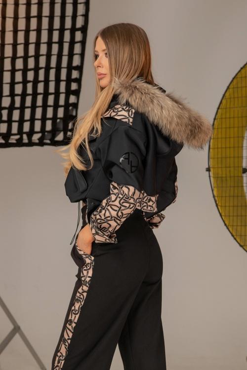 Alessa luxury зимно яке с подвижен топъл хастар