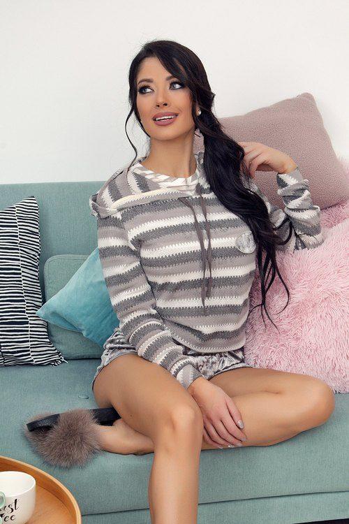 Lazy at home блуза от плетиво