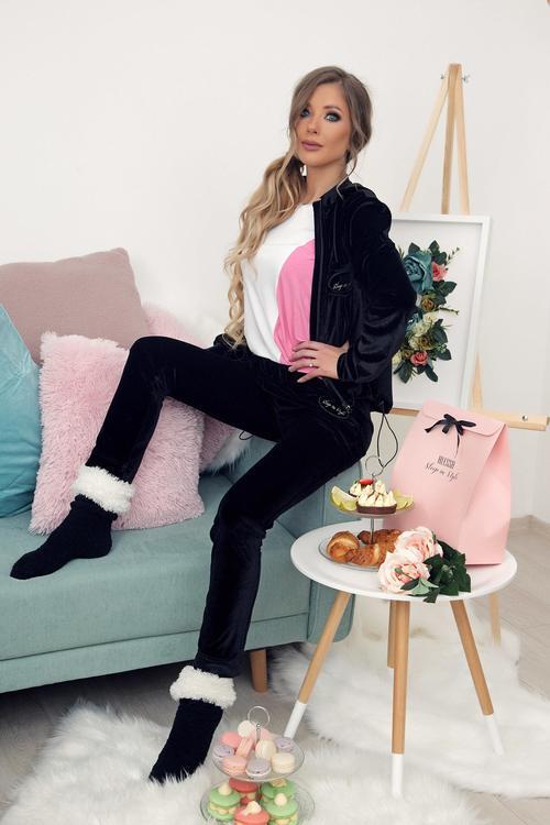 Minnie Mimi плюшен дълъг панталон