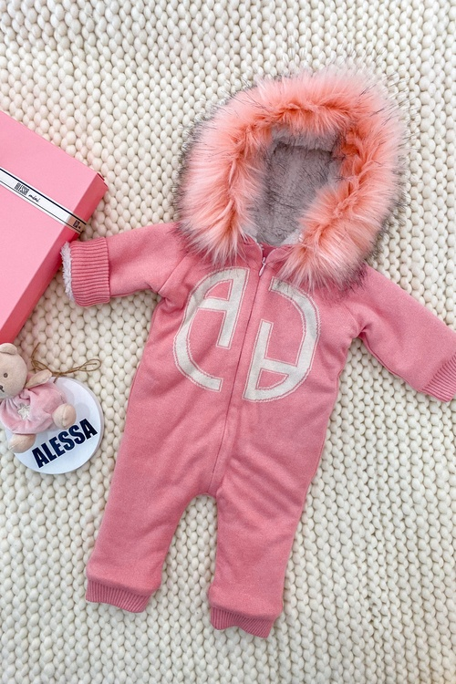 Alessa mini космонавт от плетиво - pink