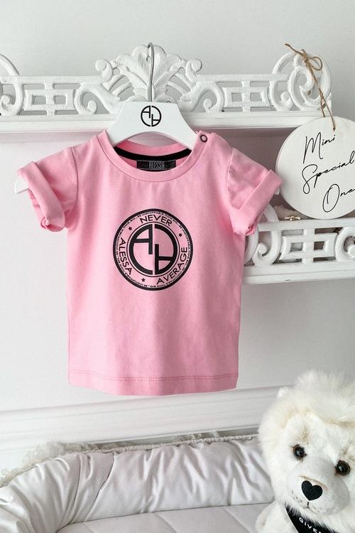 Always Invited Mini T-Shirt С Лого - Pink