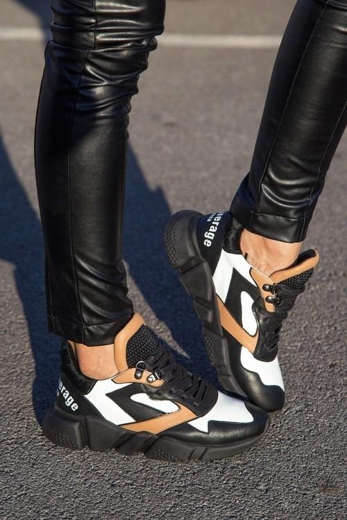 Never average by Alessa sneakers - черно ходило