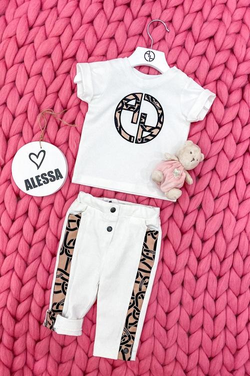 Alessa Luxury mini Дълги Дънки