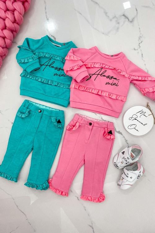 Test my patience Alessa mini блуза - pink