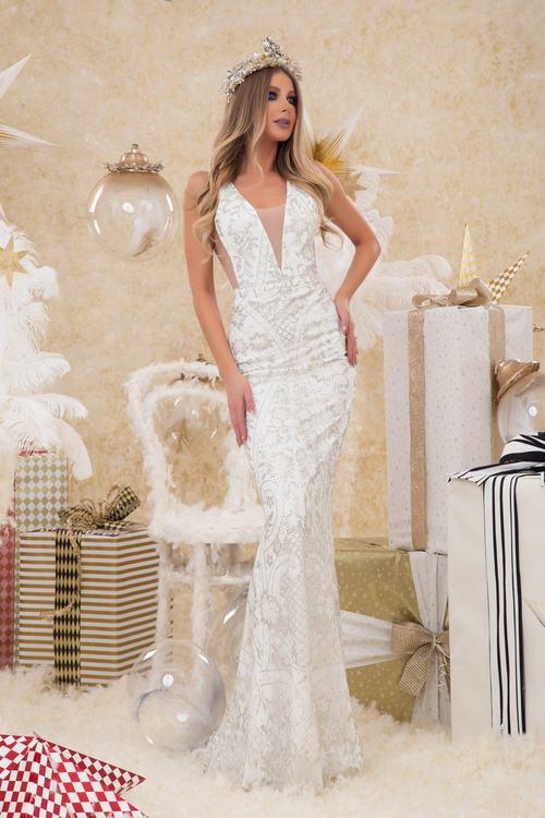 Snow white beauty вечерна рокля