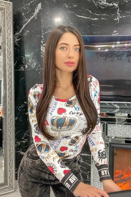 Queen of fashion блузка от плетиво - дълъг ръкав