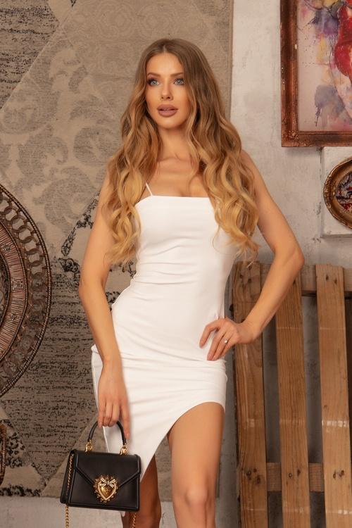 I need a mansion bodycon рокля - екрю