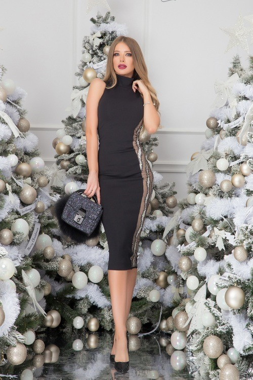 She-boss bodycon рокля