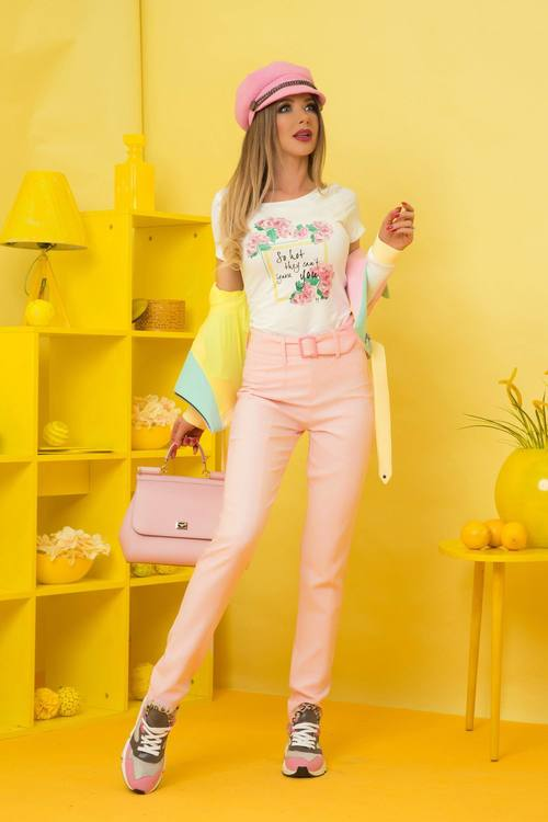 Candy badness панталон - пудра