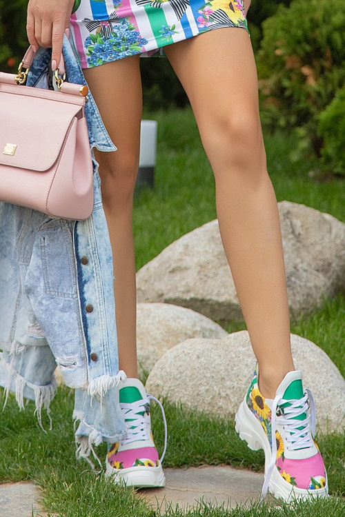 Keep on shining sneakers