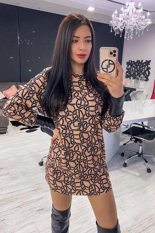 Alessa luxury блуза - рокля
