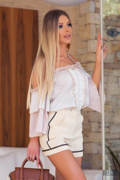 Bohemian Babe блуза-лодка
