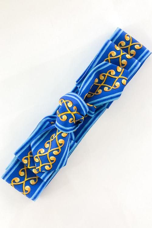 Take your crown лента за коса - синьо