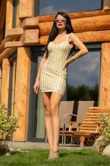 Gold Sparkle mini рокля