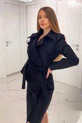 I need too much палто - черно - Изображение 1