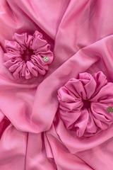 Розов неон скрънчи - малко