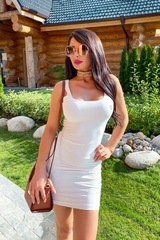 10 kinds of sexy рокля - екрю