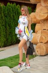 Undefeated in fashion bodycon рокля