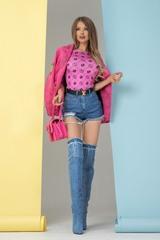 Alessa religion блузка - розова - Изображение 7
