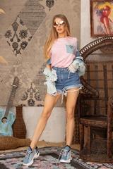 F*#k being Average T-Shirt - Pink - Изображение 5