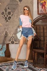F*#k being Average T-Shirt - Pink - Изображение 6