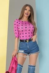 Alessa religion блузка - розова - Изображение 2