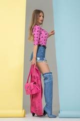 Alessa religion блузка - розова - Изображение 4